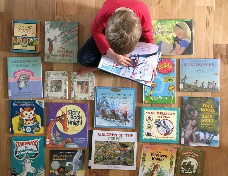 favorite picture books for kindergarten
