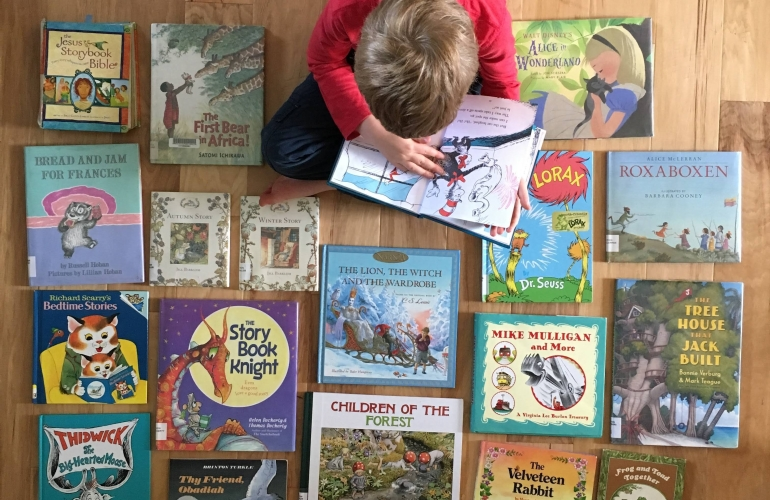 favorite picture books for kindergarten